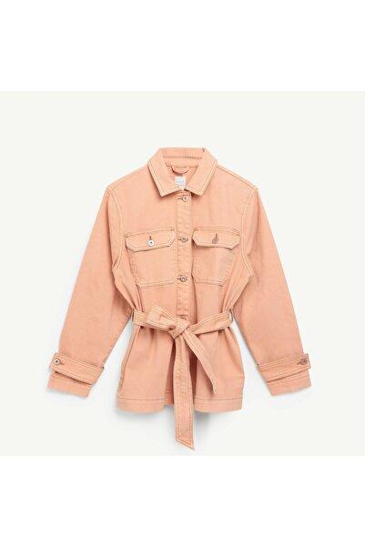 Yargıcı Kadın Pembe Kuşaklı Ceket