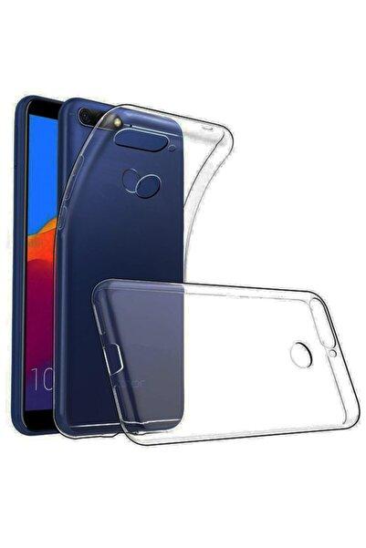 Molly Huawei P Smart 2018 Uyumlu Şeffaf Silikon Kılıf
