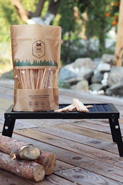 Snc Wood Çıra %100 Doğal Çıra Taze Çıra Mangal Şömine Ateş Kamp Soba Barbekü Ateşlik Ateş Kazanı