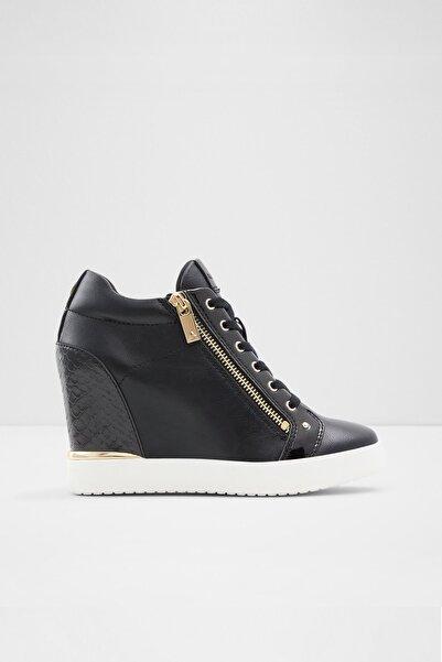 Aldo Kadın Siyah Fermuarlı Trıxıe Sneaker