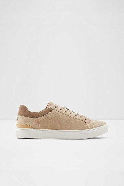 Aldo Erkek Bej Bağcıklı Süet Sneaker