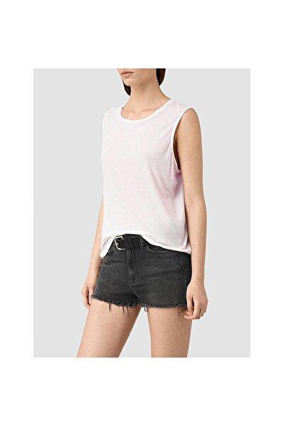 AllSaints Kadın Pembe Kolsuz  T-Shirt