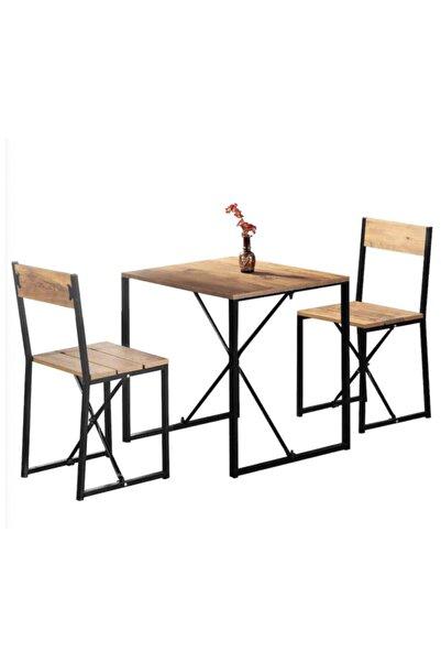 Weblonya Mutfak Masası 2 Kişilik Masa Takımı 5135