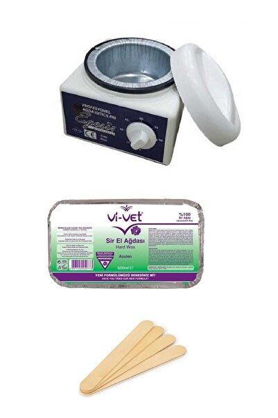 Vi-vet Ağda Seti - Azulen Kalıp Ağda - Ağda Makinesi