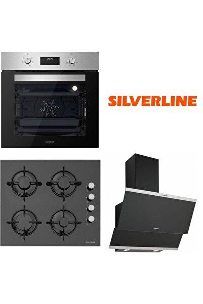 Silverline Inox Ankastre Set Bo6502x02 - Cs5349b01 - 3420 Clasyy