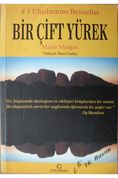 Dharma Bir Çift Yürek ( 2. E L Kitap) - Marlo Morgan