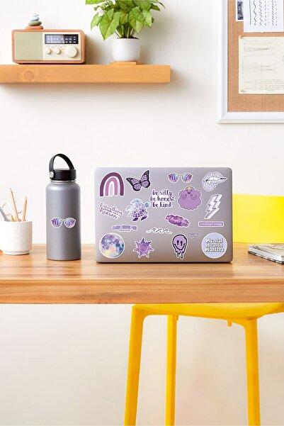 AR Sticker - Vsco Purple Laptop Notebook Tablet Sticker Set 2