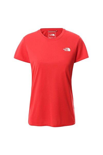 THE NORTH FACE Kadın Kırmızı Reaxion Amp Crew T-shirt - T0ce0tv33