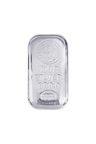 Harem Altın 100 Gram Gümüş Külçe