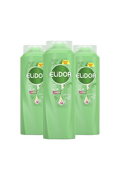 Elidor Sağlıklı Uzayan Saçlar Için Saç Bakım Şampuanı 650 ml X3