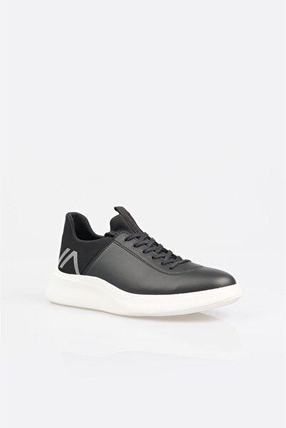 Avva Erkek Siyah Garnili Spor Ayakkabı A11y8006