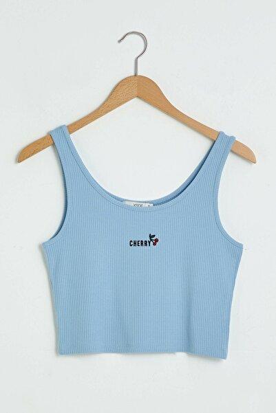 LC Waikiki Kadın Mavi Atlet XSIDE Koleksiyonu