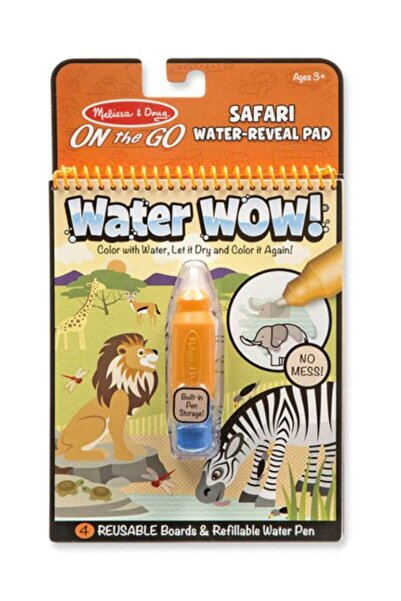 Melissa & Doug Melissa&Doug Water Wow! Su İle Boyama Kitabı - Safari /