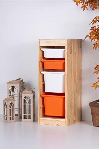 Vip Home Montessori Oyuncak Dolabı Trofast Saklama Düzenleme Ünitesi Vpa-2