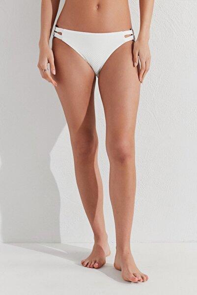 Penti Kadın Beyaz Buena Yüksek Bel Hipster Bikini Altı