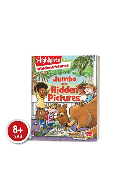 Highlights Yayınları Jumbo Kitap Hidden Pictures Dikkat Geliştirme Serisi 8+ Mutluminik