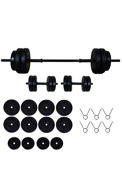Aydın Sport 55 kg Dambıl Seti Halter Seti (Dumbell) Ağırlık Seti
