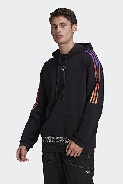 adidas Erkek Günlük Kapşonlu Sweatshirt Sprt Sweat Hood Gn2424