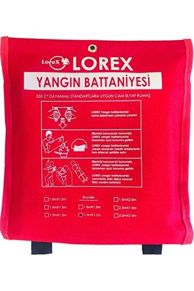 LOREX Lr-fb1512c Çantalı 1,5 Metre X 1,2 Metre Yangın Battaniyesi