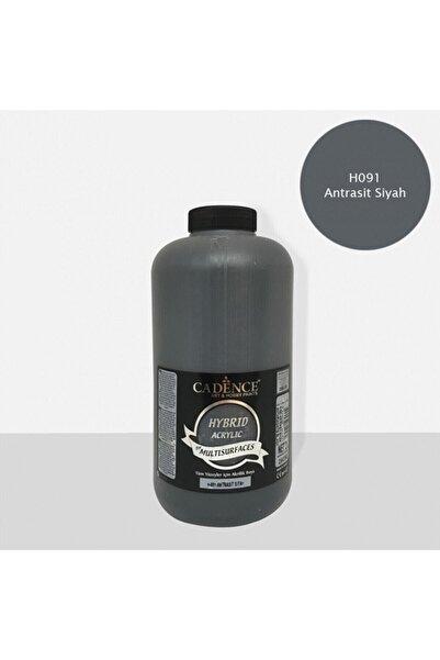 Cadence Hibrit Multisurface Akrilik Boya 2000 ml H091 Antrasit Siyah
