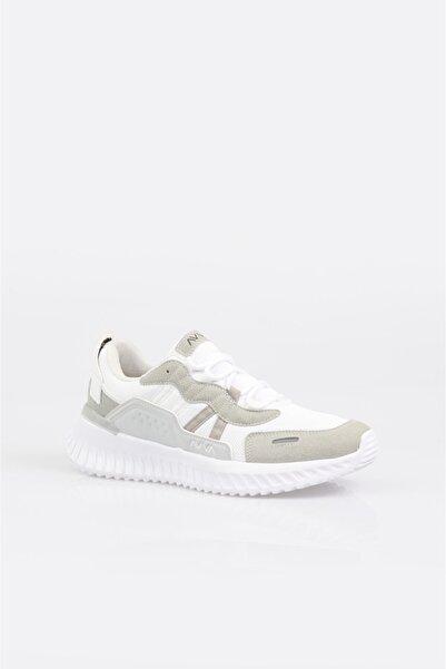 Avva Erkek Beyaz Reflektör Detaylı Spor Ayakkabı A11y8009