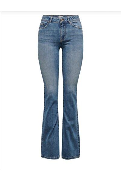 Only Kadın Ispanyol Paça Pantolon 4445