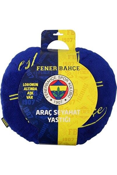 Fenerbahçe Fenerbahçe Orjinal Lisanslı Araç Seyahat Yastığı 40x40