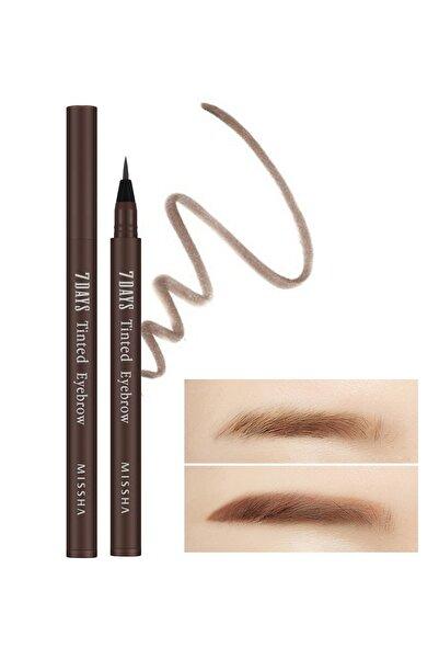 Missha 7 Gün Kalıcı Microblading Etkili Kaş Boyası 7 Days Tinted Eyebrow (Maroon Brown)