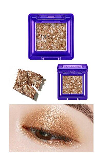 Missha Yoğun Pigmentli Parıltılı Metalik Tekli Far MISSHA Glitter Prism Metal (No.3)