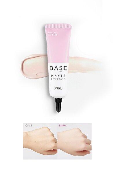 Missha Solgun Ciltler İçin Canlandırıcı Makyaj Bazı 20g APIEU Base Maker Pink SPF30/PA++