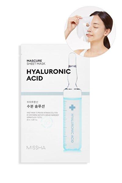 Missha Hyalüronik Asit Nemlendirici Yaprak Maske (1ad) Mascure Hydra Solution Sheet Mask