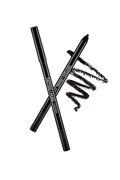 Missha Geçici Dövme Etkili, Suya Dayanıklı , Yumuşak Jel Göz Kalemi APIEU Tattoo-Pang Eyeliner (BK01)