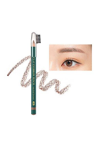 Missha Doğal Görünüm Sağlayan Kaş Kalemi Clay Eyebrow Pencil (Neutral Brown)