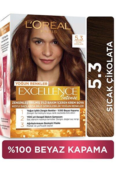 L'Oreal Paris L'oréal Paris Excellence Intense  Sıcak Çikolata Saç Boyası  5.3
