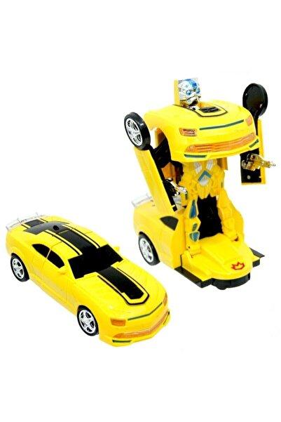transformers Sports Car Pilli Robota Dönüşen Araba