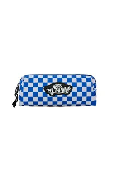 Vans Mavi Beyaz Damalı Kalem Kutu