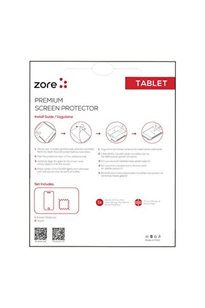 zore Galaxy Tab 4 7.0 T230 Tablet Blue Uyumlu Nano Screen Protector