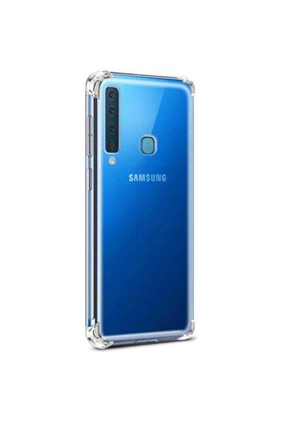 Samsung Galaxy A9 2018 Kılıf Köşe Korumalı Anti Şok Sert Silikon