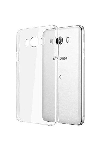 Samsung Galaxy J7 2016 Kılıf Şeffaf Süper Silikon