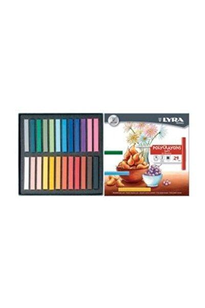 LYRA Polycrayons Soft - Toz Pastel 24 Renk