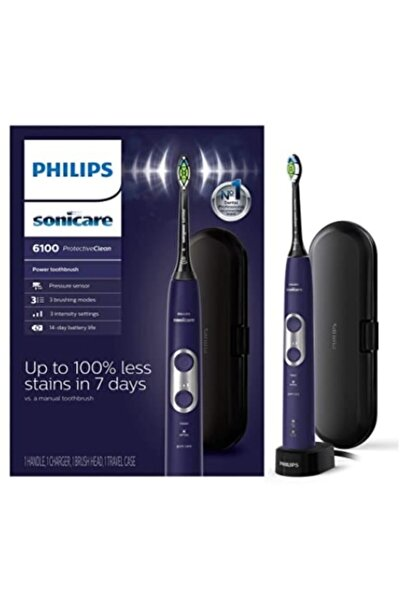 Philips Sonicare Sonic Protective Clean Şarj Edebilir Diş Fırçası 6100 Hx6471/03