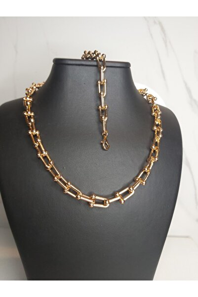 Romeo accessories Tiffany Model Çelik Kolye Seti