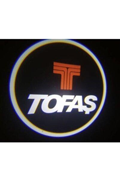 Tofaş Araçlar Için Pilli Yapıştırmalı Kapı Altı Led Logo
