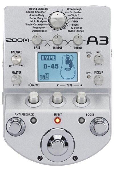 Zoom A3 Akustik Gitar Prosesörü