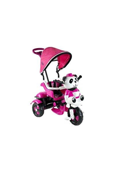 7Erbilden Babyhope 127 Little Panda 3 Tekerli Kontrollü Bisiklet Pembe