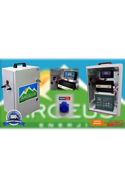 ARGEUS ENERJİ 320 Watt Taşınabilir Güneş Enerjili Televizyon-aydınlatma Paketi
