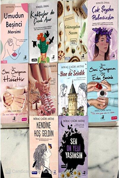 Olimpos Yayınları Miraç Çağrı Aktaş&songül Ünsal Seti 10 Kitap