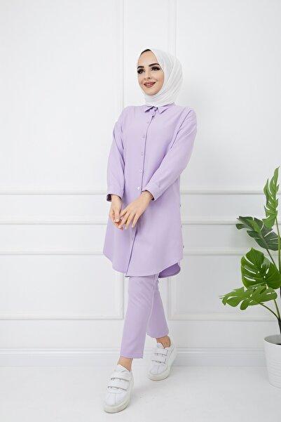 Bayanca Moda Kadın Tunik&pantolon Ikili Tak��m