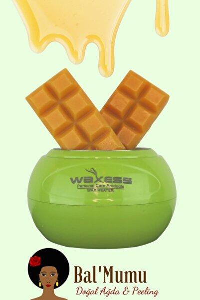 Waxess Mars Profesyonel Yeşil Ağda Makinesi 240 ml + 2 Adet Bal'mumu Çikolata Ağda Avantaj Paketi