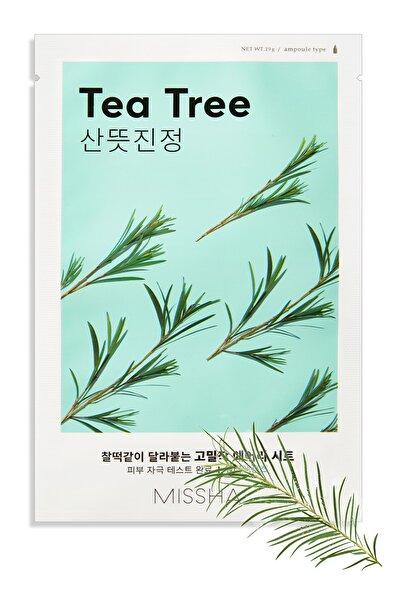 Missha Çay Ağacı Yağı İçerikli Sivilce Karşıtı Yaprak Maske (1ad) Airy Fit Sheet Mask Tea Tree
